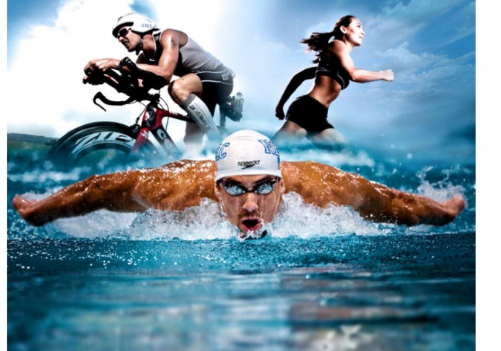Voormalige sponsor voltooit triathlon